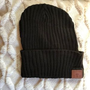 Black Music Hat | Bluetooth Winter Beanie